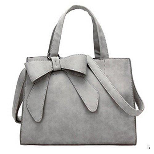 LMMVP Handbag Womens Fashion Cute Bow Shoulder Bags Crossbody Bag Vintage Travel Tote Bag