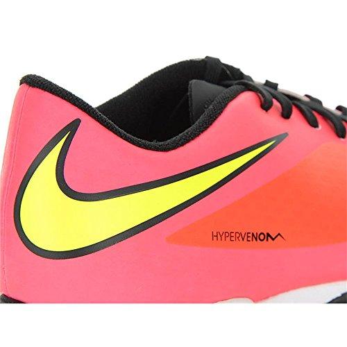 Nike Hypervenom Top Phade TF, Chaussures DEntraînement de Football Pour Homme rouge - corail