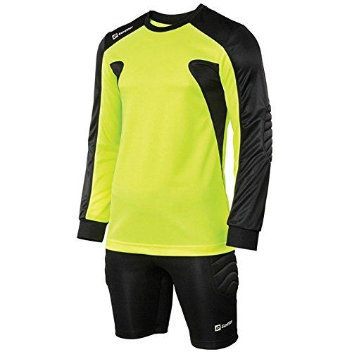 c605e59a6 Lotto Mens Long Sleeved Football Kit Guard Goalkeeper Shirt and Shorts