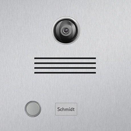 Briefkasten Videosprechanlage Edelstahl B3V Icona (Beschriftung direkt) - 2