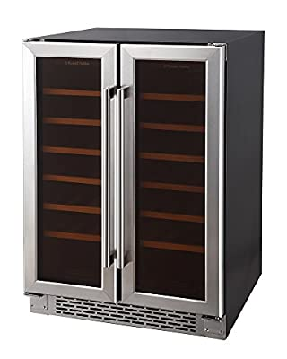 Russell Hobbs, Freestanding/Built In, 36 Bottle Wine Cooler, RHBI36DZWC2