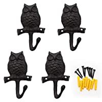 Gecko Hook/Owl Coat Hooks Wall Mount