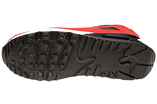 Gibra Chaussures De Course Pour Homme Schwarz / Rot