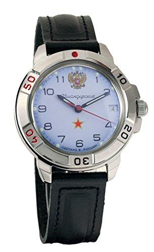 43063c6c9a26 Vostok Komandirskie  431323 Commander Genuine 2414 Movement Russian Army Mechanical  Wrist Watch