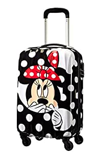Disney By American Tourister Disney Legends Bagaglio a Mano 55/20 Alfatwist Minnie Dots, Policarbonato, 32 ml, 55 cm