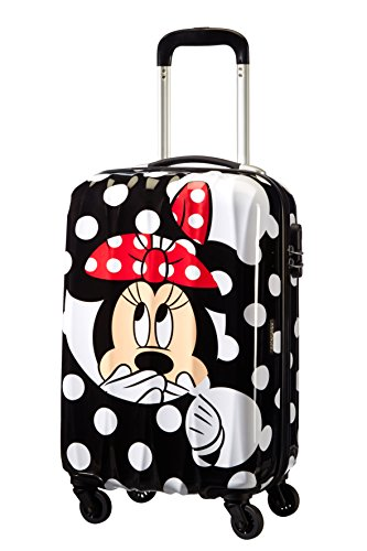American Tourister - Disney Legends Spinner Maletas y Trolleys, S (55 cm -32 Litros), Multicolor (MINNIE DOTS)