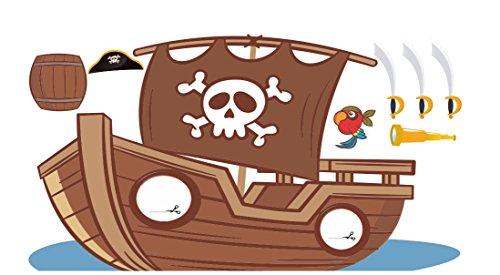 Photocall-Barco-Pirata-295x155m-Photocall-Infantil-con-Accesorios-de-Regalo-Resistente-Original-y-con-las-Ventanas-Troqueladas-Photocall-Ideal-para-Eventos-Infantiles