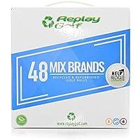 Replay Golf Box 48bolas recicladas de golf Mix