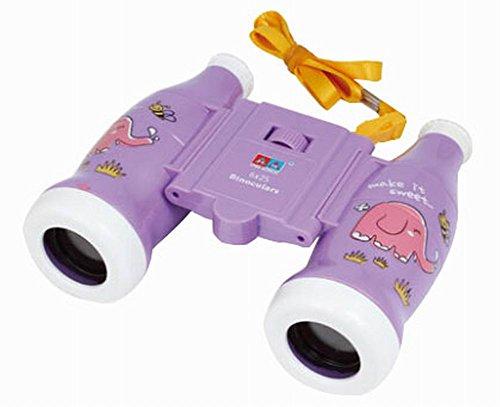 Kinder Spielzeug Binocular Telescope im Freien erkunden Lernspielzeug , Lila