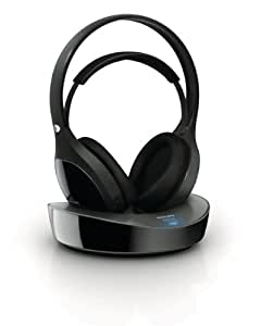 Philips SHD8600UG/10 Kabelloser HiFi-Over-Ear Kopfhörer (flexibler Bügel, rauschfrei) schwarz
