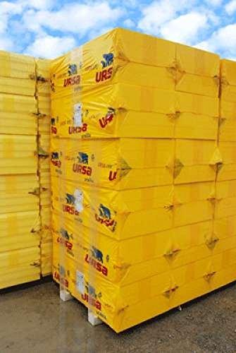 1 Palette (10 Pakete = 30m² ) XPS URSA UN III L WLG 036 / 100 mm frei Haus