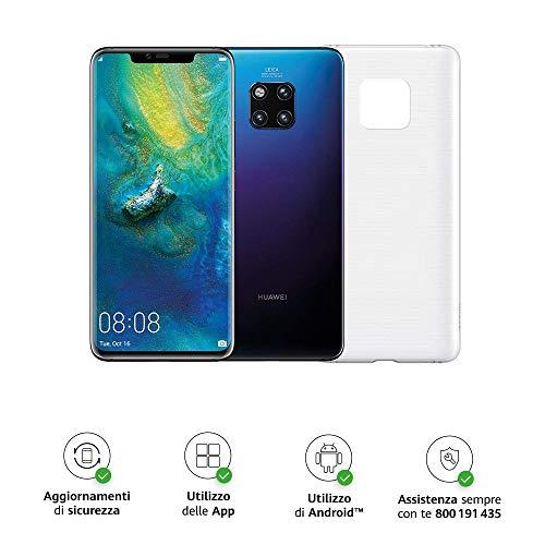 Foto Huawei Mate 20 Pro (Twilight) più Cover Originale, Telefono con 128 GB,...