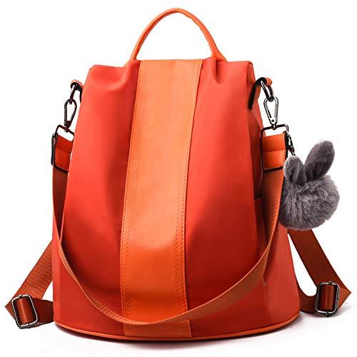 Charmore Mochila Antirobo Mujer Impermeable Nylon Bolso escolares Daypack Mochila de Viaje de Gran...