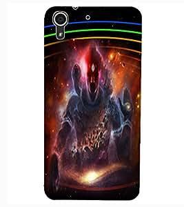 ColourCraft Lord Shiva Design Back Case Cover for HTC DESIRE 626