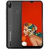 Blackview A60 Pro 4G Móviles 2019, Android 9.0 Smartphone Libres Face ID, (15.7cm) 19.2:9 HD Display, 3GB +16GB, 4080mAh Batería Telefono Dual SIM, Móvil Libre 256GB TF Ampliable (EU Versión)