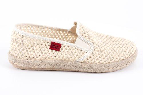 Andres Machado.AM500.Chaussures classiques, en cuir avec lacets .Grandes pointure de la 46 à la 51. RejillaBeige