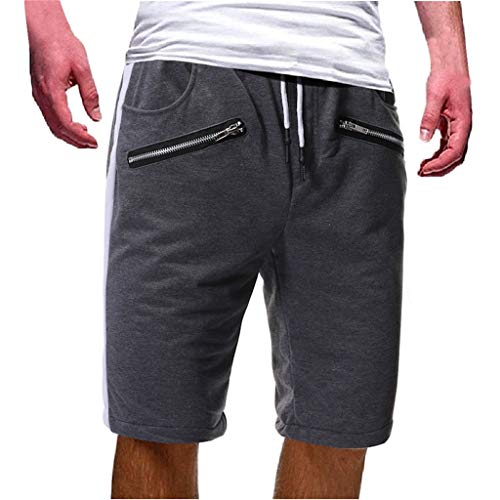 Expressive Short Masculino Fashion Pantalones Cortos Hombre Men Gym Casual Sports Jogging Elasticated Waist Shorts Pants Trousers Board Shorts