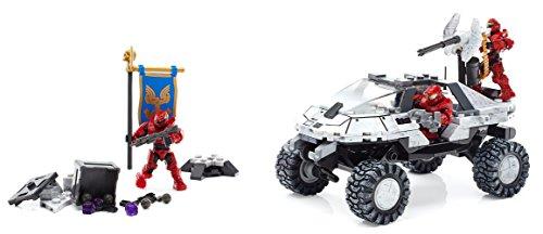 (Mega Bloks Halo Warthog-Fahrzeug für Antarktis (FDY52))