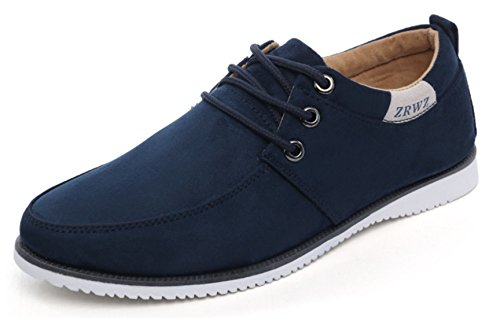 dadawen-homme-casual-low-top-suede-bateau-chaussure-bleu-43