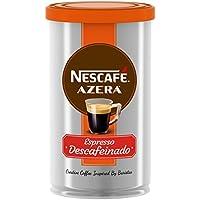 Nescafé Azera Espresso Descafeinado - Paquete de 6 Latas x 100 gr - Total: 600 gr