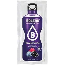 Bolero Drink - Frutas del bosque con stevia (paquete de 12)