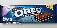 Milka Oreo Big Crunch Chocolate candy Bar 300g