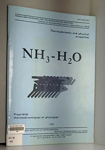 NH3-H2O : Propriétés thermodynamiques et physiques