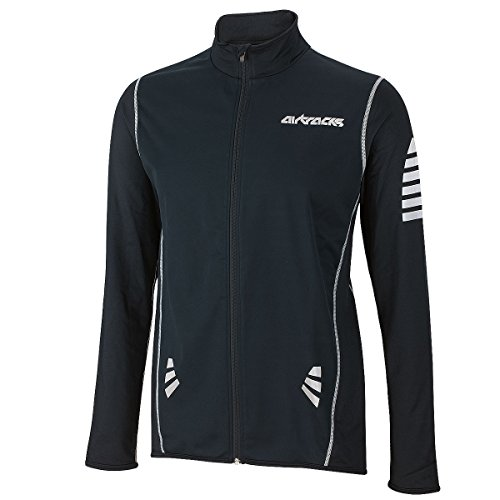 AIRTRACKS FUNKTIONS WINTER FAHRRADTRIKOT LANGARM PRO / THERMO RADTRIKOT/ WINDSTOPPER / REFLEKTOREN / FULL ZIP