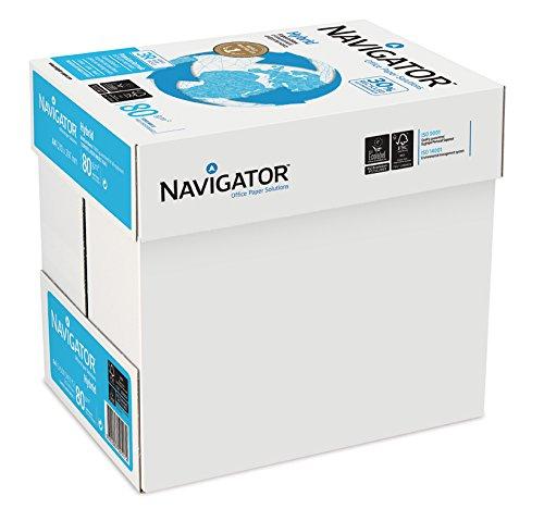 Navigator 505172 - Caja con folios de papel multifunción, 500 hojas, 5 paquetes