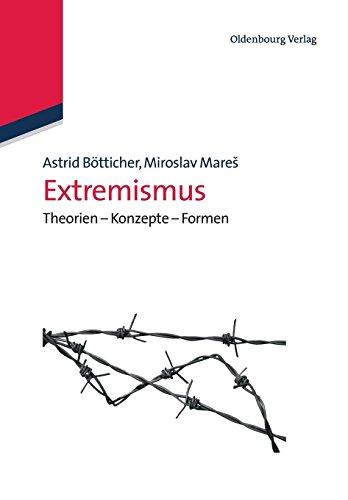 Extremismus: Theorien Konzepte Formen: Theorien - Konzepte - Formen (Lehr- und Handbücher der Politikwissenschaft)