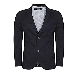Kensington Andris Mens Suit Blazer - Navy-Small 38