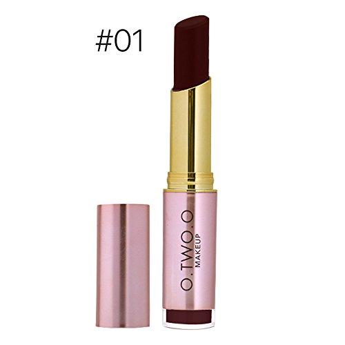 Rouge à lèvres sexy imperméable de maquillage de beauté hydratant le rouge à lèvres durable trada gloss brillant levres