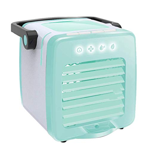 Fanes USB-Lade tragbare Multifunktions-Klimaanlage Home Kühlschrank,Green