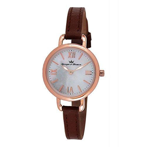 Orologio Yonger & Bresson Donna Madreperla Bianca–DCR 051/BU–Regalo Ideale