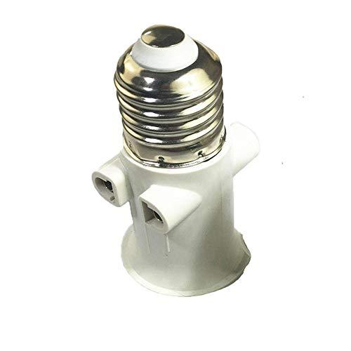 kwmobile Portal/ámpara E14 con interruptor Adaptador de l/ámpara de 3.5M Base para bombilla en negro Cable de red con interruptor y enchufe
