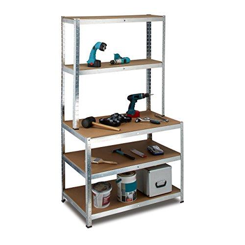 werkbank aus metall was. Black Bedroom Furniture Sets. Home Design Ideas