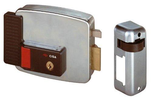 Serrure électrique postuler CISA Art. 11731 Taille 60 mm vers la droite