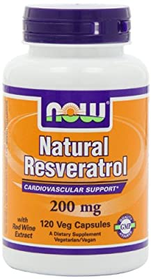Natural Resveratrol, Mega Potency, 200mg, 120 Vcaps