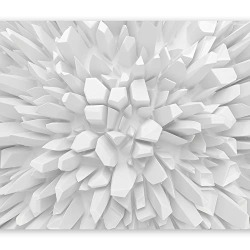 murando – Papier peint intissé – 250x175 cm – Trompe l oeil - Tableaux muraux – Déco – XXL– abstraction 3D optique a-A-0134-a-a