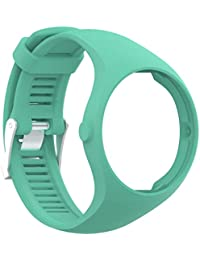 Zolimx Patrón de Moda Joven TPU Correa de Reloj Inteligente muñeca para Polar M200 Fitness Watch