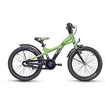 s. Cool Niños XXlite 18–3–Bicicleta infantil, color Lemon/Black Matt, tamaño 18 pulgadas