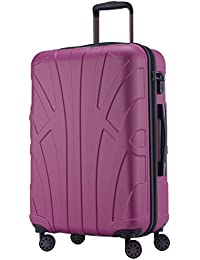 Suitline - Hand luggage Carry on luggage Set of 3 Hard-side