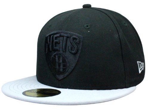 New Era Cap Brooklyn Nets Pop Tonal | 59Fifty fitted Cap in Größe 7 1/4 + original Bandana gratis