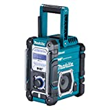 Makita DMR112 - Stereo portatile (trasmissione audio digitale (DAB), MP3, accoppiamento Bluetooth)