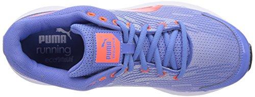 Puma - Sequence W, Scarpe da corsa da donna Azul - Blue - Blau (03 ultramarine-FLUO PEACH)