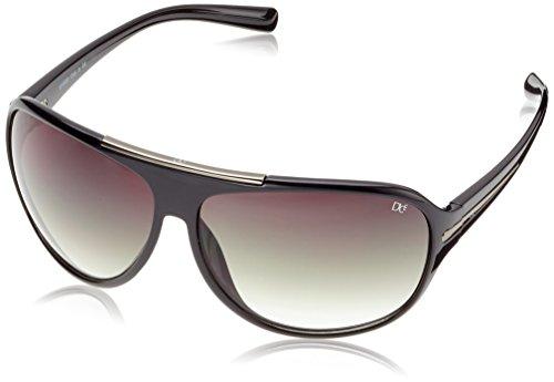 Dice Erwachsene Sonnenbrille, Schwarz Shiny, One Size