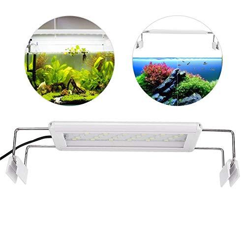 LED-Aquariumlicht, ultradünne Wasserpflanze-Licht-einziehbares Aquariumklammer-Licht 5W Markierungs-LED-Lampe für Aquarium-Beleuchtung anwendbare Größe 20-30cm EU-Stecker 200-240V Spezifikation: GX-A2 -