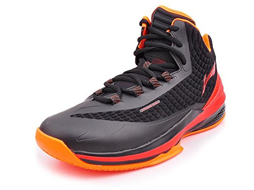 Li Ning Li Ning Basketball-Schuh Shadow Walker schwarz/rot Gr. 39 2/3 Sportschuhe
