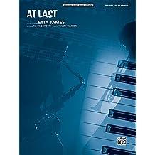 At Last: Piano/Vocal/Guitar, Sheet (Original Sheet Music Edition)