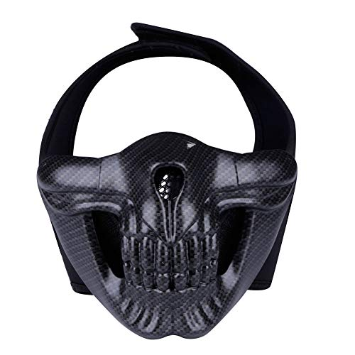 TZTED Taktischer Totenkopf Schutz Masken Für Airsoft Paintball CS Krieg Spiel BB Gun Cool Scary Ghost Halloween Party Maske,B